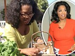 'Chickens are workin': Oprah Winfrey shows off her new clutch of eggs...and a glimpse of her $52m estate