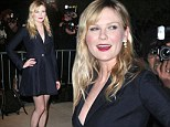 Kirsten Dunst at screening for On the Road in New York