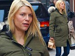 Pregnant Claire Danes celebrates Golden Globe nod with low-key lunch... as stars react to nominations