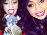 Meet Maurice! Little Mix's Leigh-Anne Pinnock shares pictures of her adorable new puppy