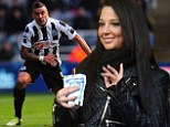 Have you learned the offside rule yet? Tulisa takes to the stands as she cheers on her man footballer Danny Simpson
