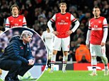 Tough times: Wenger