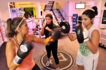 The first rule of this Dubai fight club - girls only