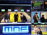 MNF star Neville takes Sportsmail behind the scenes of the TV show making fans fall in love with punditry again