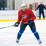 A Rising Hockey Star With N.B.A. DNA