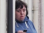 ASBO: Noisy Julie Griffiths outside her home where she shouted at her husband so loudly it kept the neighbours up for three years