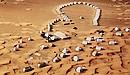 沙漠里的火星旅馆