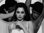 'We're a match made in heaven... this kind of love's forever': Cheryl Cole and boyfriend Tre Holloway indulge in a VERY raunchy PDA as she raps in new video