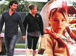 Christmas wish come true: Renee Zellweger and her new boyfriend Doyle Bramhall II were spotted on Abbot Kinney in Venice, California, on Sunday