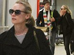 Très romantique! Diane Kruger and Joshua Jackson touch down in Paris to spend Christmas at their holiday home