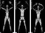 Immature: A former TSA officer has revealed that he had witnessed his co-workers laughing at the nude X-ray images of passengers going through full-body scanners