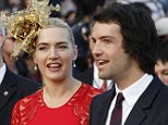 Third time lucky: Kate Winslet marries Ned Rocknroll in secret ceremony in New York and Leonardo DiCaprio gives her away