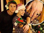Riddle of the rings: Miley and Liam Hemsworth spark marriage rumours by wearing bling on wedding fingers