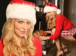 Brandi Glanville bounces back from surgery and LeAnn Rimes feud with a sexy Santa shoot