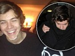 Ouch! Harry Styles smiles through the pain as he displays bandaged chin following skiing injury