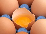 Death by egg: The 20-year-old ate 28 raw eggs before he collapsed and was taken to hospital where he was pronounced dead upon arrival