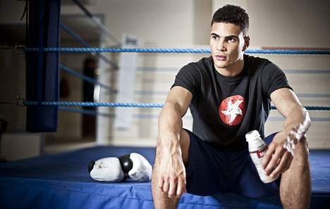 Strength to shine: Ogogo is aware of the importance of sports nutrition