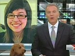 Woof: In this broadcast, the anchor gets some help from a furry friend