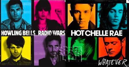 hot chelle rae howling bells album similarities