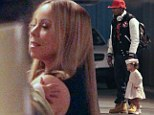 Daddy duty down under! Nick Cannon holds daughter's hand as he goes on Australian cruise with wife Mariah Carey
