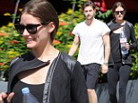 No rest for the gorgeous: Olivia Palermo and boyfriend Johannes Huebl hit the gym, even on their St. Barts holiday