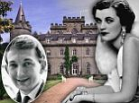 How I lost my virginity to the VERY racy real life chatelaine of Downton's Scottish castle