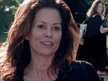The scarf is off: Brooke Burke-Charvet reveals first glimpse of throat scar from thyroid cancer surgery