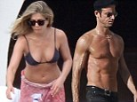 Jennifer Aniston and fiancé Justin Theroux sunbathe and hang out with Emily Blunt, John Krasinski, and Jimmy Kimmel in Cabo