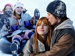 Disney on ice! Bella Thorne and gang frolic in the snow during Lake Tahoe mini break