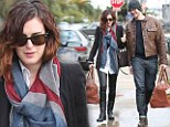 Now they've got matching bags! Rumer Willis continues to enjoy the quiet life with boyfriend Jayson Blair