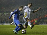 On the move: Chelsea winger Marko Marin is wanted by Bayer Leverkusen