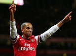 Main man: Theo Walcott was in exceptional form against Newcastle