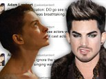 'The singing was so distracting!' Adam Lambert blasts Les Miserables saying it 'suffered massively' from 'pretend singers'