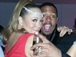 Time travelling Mariah Carey keeps ahead of the pack as she is among first celebs to ring in 2013 in Australia