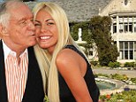 Ready to say I do: Hugh Hefner and Crystal Harris are set to marry on New Year's Eve