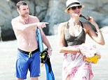 Naomi Watts and husband Liev Schreiber are quite the doubleact as they show off their his 'n' hers beach bodies in St Barts