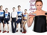 L-R Chris Hoy, Victoria Pendleton, Stella McCartney, Andy Murray and Jessica Ennis.\nOfficial Team GB Olympic Kit by adidas & Stella McCartney, posted on the Team GB facebookpage