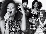 Super stylin: Solange Knowles is pretty in polka dots for edgy GQ magazine shoot