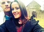 Odd couple: Jenelle Evans has split from her husband Courtland Rogers after less than a month