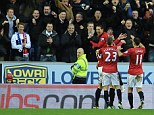 Ha-Pea New Year: Javier Hernandez scored twice as Wigan continued their march to a 20th title