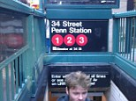 Train death: A young woman was killed by a No. 2 subway train at a Penn Station platform on 34th Street and Seventh Avenue, pictured