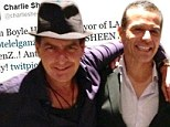 Sheen's new pal? Charlie Sheen tweeted a picture of himself with Los Angeles Mayor Antonio Villaraigosa in Cabo San Lucas, Mexico on Saturday morning