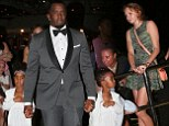 P Diddy celebrates his son's 20th birthday with his family... before inviting her celebrity friends to join in
