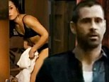 A sight for sore eyes! Colin Farrell catches glimpse of Noomi Rapace in her lingerie in Dead Man Down trailer