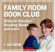 Family Room Book Club - Discuss Summer Reading Books and more - Go now