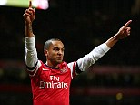 No thanks: Walcott will snub Manchester United and stay at the Emirates
