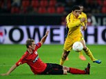 Wanted man: Chelsea have been tracking the Metalist midfielder