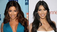 Photos: Kim Kardashian suing Old Navy lookalike