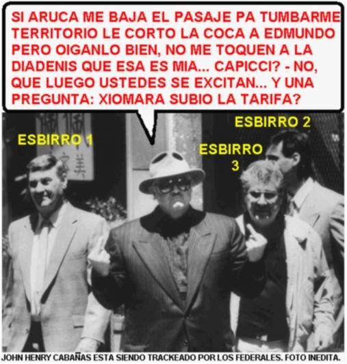 EL PADRINO CABAÑAS BAJO LA MIRILLA DE  LOS FEDERALES