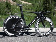 Specialized's Shiv was one of the most striking time trial introductions last year but now the UCI has banned its use in competition.